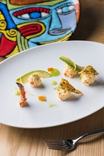 A Tale of Food and Art Featuring Alaskan King Crab